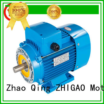 ZHIGAO y3 induction motor rotor design supply for metal cutting machine