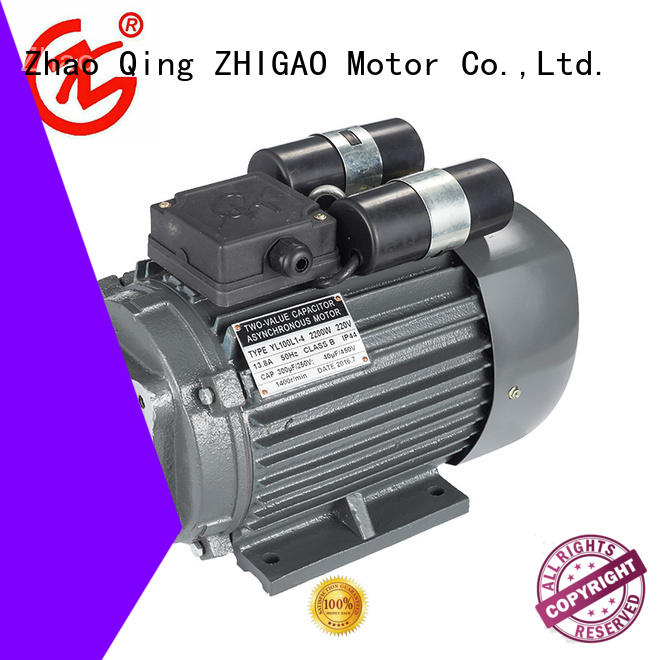 ZHIGAO series induction motor details manufacturers for motorcycle