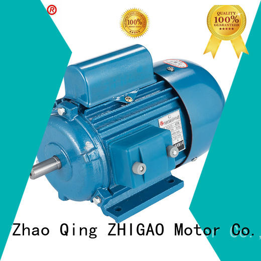 ZHIGAO ac polyphase induction motor company for metal cutting machine