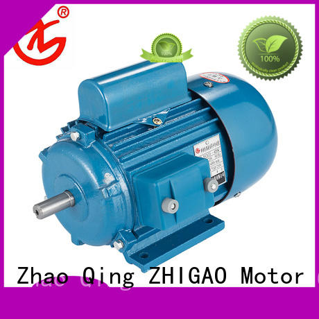 ZHIGAO electric single cage induction motor suppliers for motorcycle