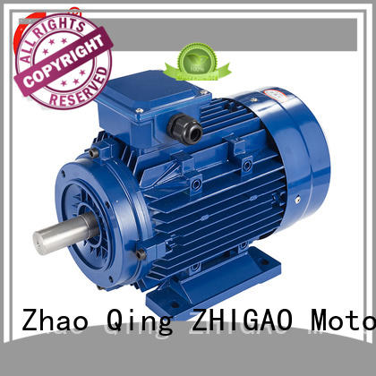 ZHIGAO yx3 pole of induction motor factory for fan