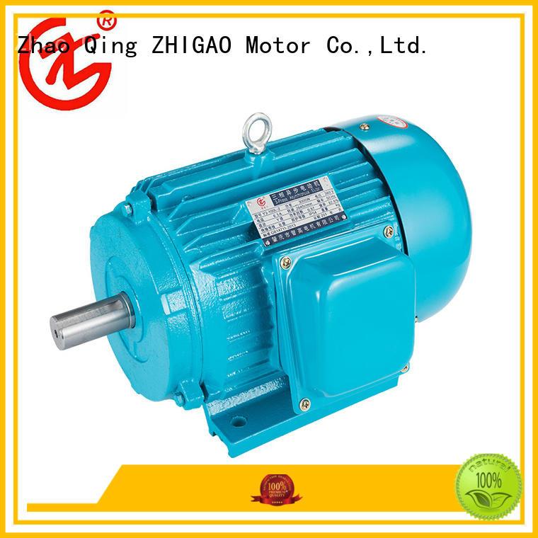 ZHIGAO motors three pole motor for business for fan