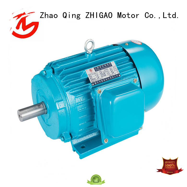 ZHIGAO phase three phase induction motor price supply for food machine