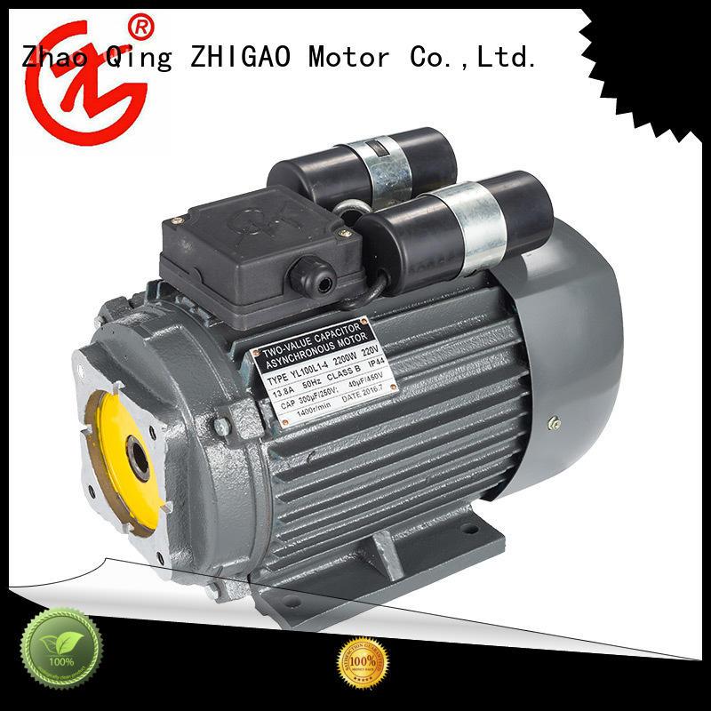 ZHIGAO electric 3 face motor company for fan