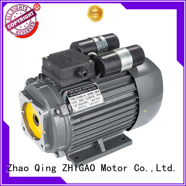 ZHIGAO Latest single phase motor rpm factory for food machine