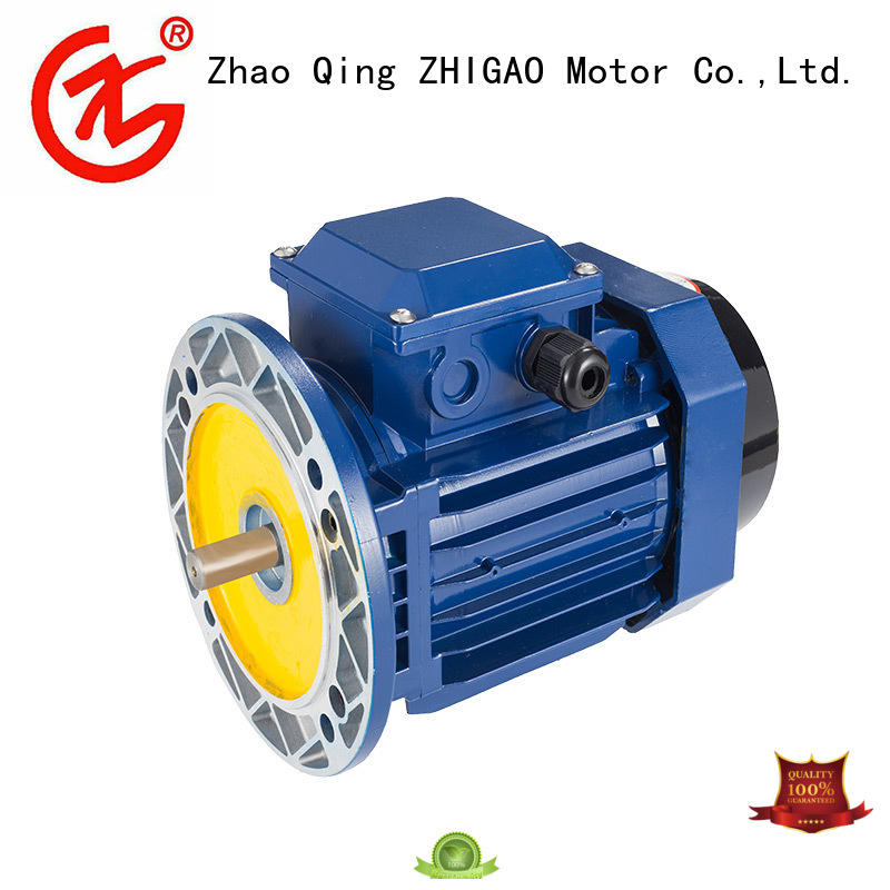 ZHIGAO Best three phase induction motor price factory for food machine