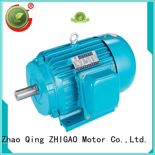 ZHIGAO Best single phase induction motor operation for business for wood-working machine