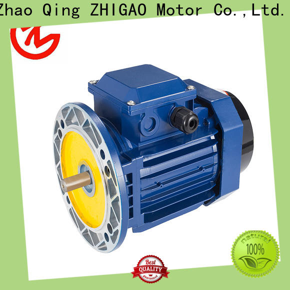 ZHIGAO High-quality squirrel cage induction motor working suppliers for fan
