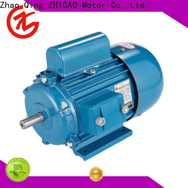 ZHIGAO Custom 2 speed single phase motor factory for motorcycle