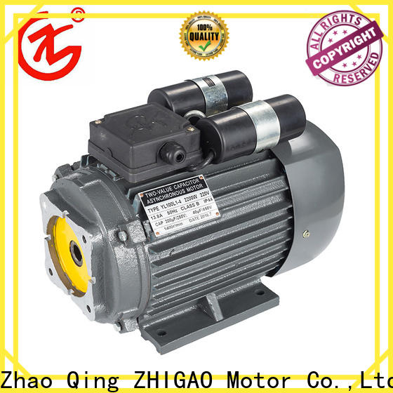 ZHIGAO ys 2 pole induction motor suppliers for motorcycle