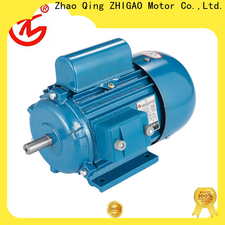 ZHIGAO ac uses of 3 phase induction motor company for motorcycle