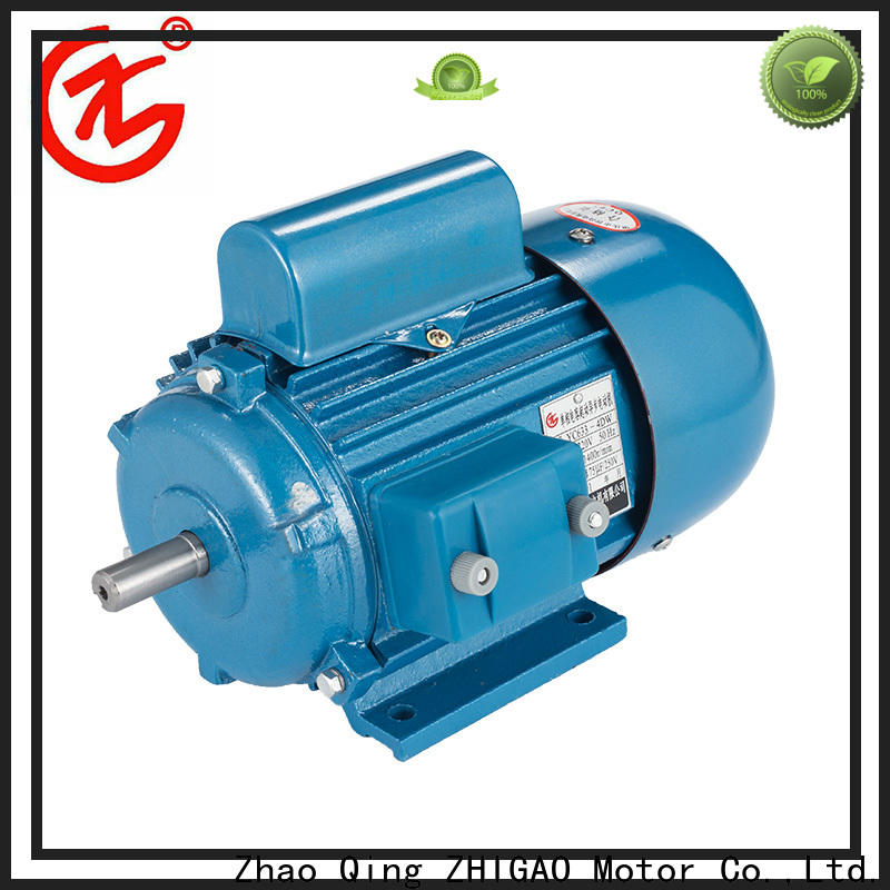 ZHIGAO electric low power ac motor for business for wood-working machine