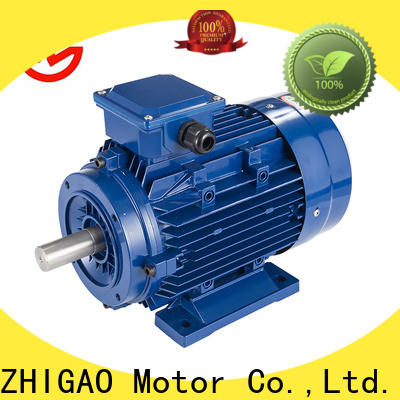 ZHIGAO electric 3 phase synchronous motor for business for metal cutting machine