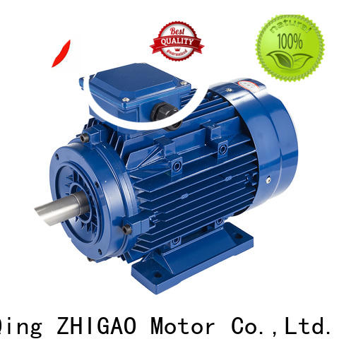 ZHIGAO induction 2 phase induction motor factory for