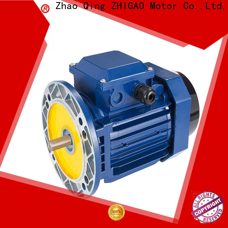 ZHIGAO quality 3hp electric motor supply for metal cutting machine
