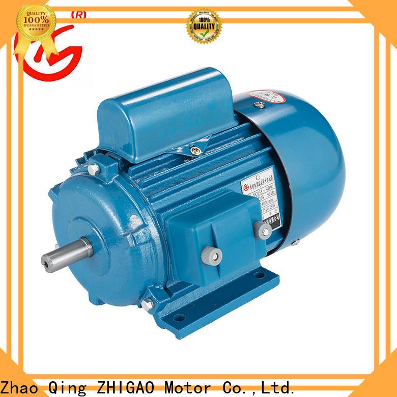 ZHIGAO y3 induction motor winding company for metal cutting machine
