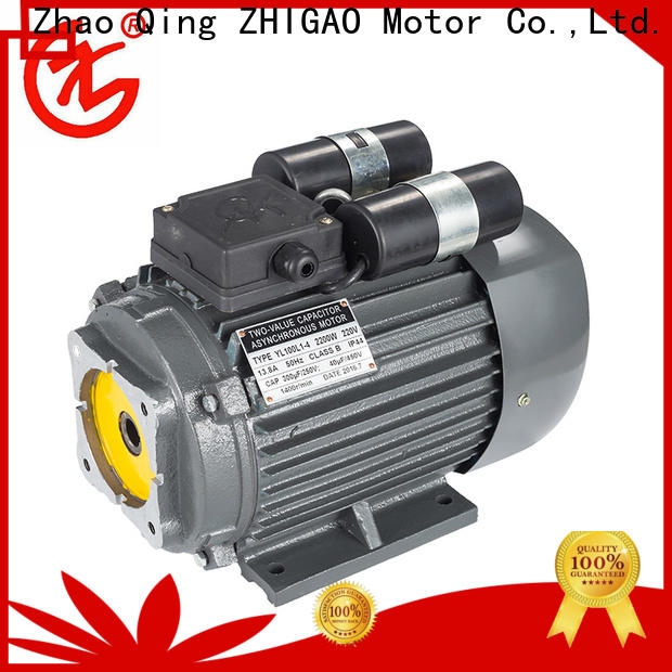 ZHIGAO yl three face induction motor suppliers for wood-working machine