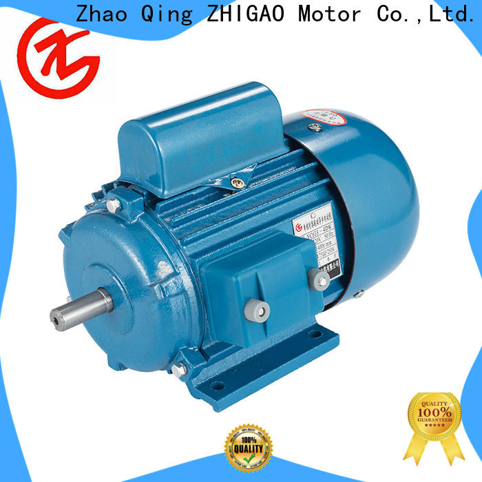 Best 7 hp single phase motor electric factory for metal cutting machine